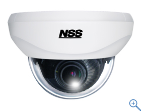 SKS-AHD931 AHD Series【AHDバリフォーカルドームカメラ】 1280×720解像度を有するAHDカメラ 景観を損ねないドーム型のカメラなので設置する場所を選びません レンズを自由に回転させるための3軸構造になっています