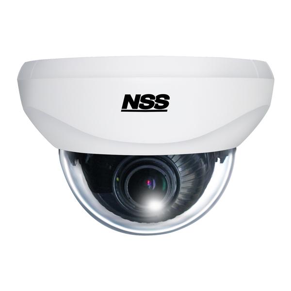 【NSS正規販売代理店】 NSC-AHD931VPU ワンケーブル(電源重畳方式)AHDバリフォーカルドーム型カメラ 3箇所の可動軸によるレンズ調整機構
