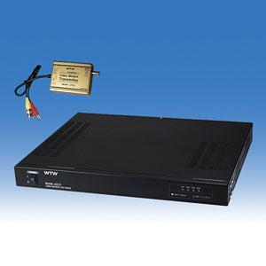 ワンケーブルユニット 電源重畳ユニット WTW-8C06 送信ユニット 受信ユニット ワンケーブルユニットセット カメラ4台対応重畳