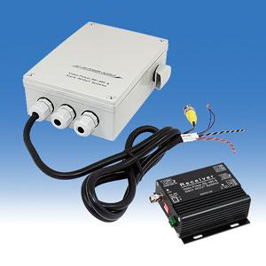 電源重畳ユニット 映像・PTZ信号・AC電源を、同軸1本で伝送することができる! ワンケーブル送受信ユニットセットRS485信号+映像信号+電源供給 SC-VCPD2401A メーカー希望小売価格 135,000円