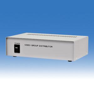 WTW-V0816P 映像分配器 8つの入力を各2出力します※通常出力とは別に各入力に1つのスルー出力も搭載 メーカー希望小売価格 61,500円円