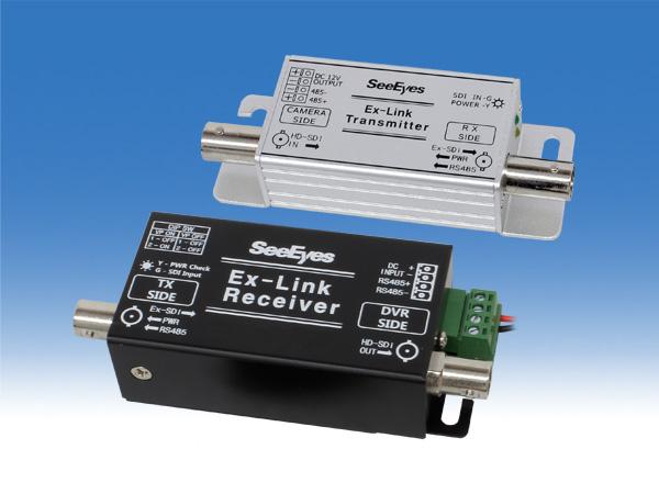 遠距離HD-SDI用 重畳ユニット 1chタイプ WTW-LHCP1001D 4chタイプ WTW-LHCP1004 8chタイプ WTW-LHCP1008 選択肢よりお選びください ワンケーブルユニット 最長320mまでケーブル延長可能