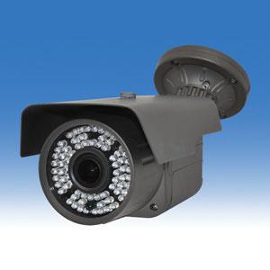 WTW-AR83HJ 220万画素! 赤外線LEDを72個搭載し暗視可能 天井・壁面どちらも設置が可能 2.8~12mmメガピクセルバリフォーカルレンズ搭載 防塵防水屋外設置可能 AHDの赤外線カメラ