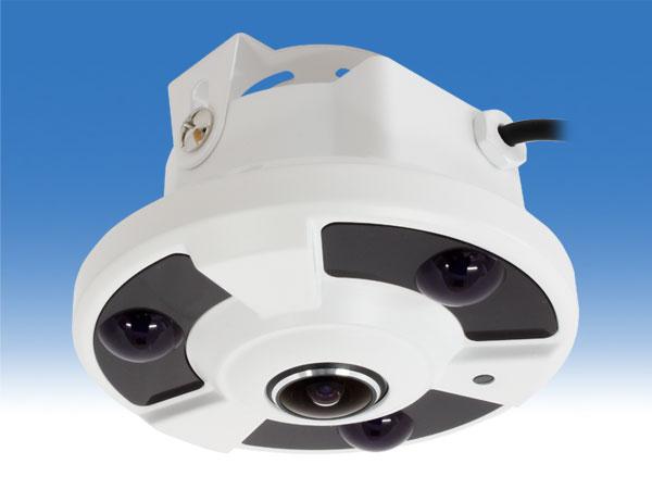 WTW-ADR25HE 普通のカメラを魚眼レンズに 送料無料 防犯カメラ専門店SKS 魚眼レンズ 簡単に360°監視 普通のカメラをパノラマビューに! 魚眼防犯カメラ 魚眼監視カメラ