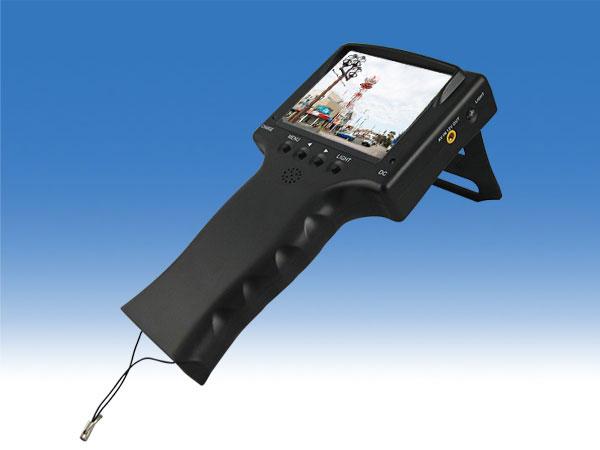 WTW-TM2ACT 旧 WTW-TM2A【バッテリー内蔵液晶モニター】 3.5インチモニター AHDカメラ用モニター【防犯カメラ設置時の向き調整に最適】cp-25bの代替え機 映像テスター 携帯型ミニモニター