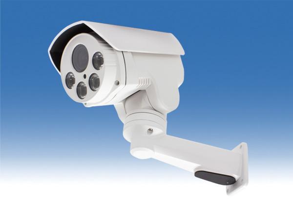 WTW-PR883PT 高性能IPネットワークカメラ屋外赤外線型カメラ 上下左右に回転可能なPTZカメラ 220万画素 Sony CMOSセンサー搭載 赤外線LEDを搭載 暗視可能 水平350度 垂直 上5度 下40度の旋回 2.8~12mmの電動式バリフォーカルレンズ搭載