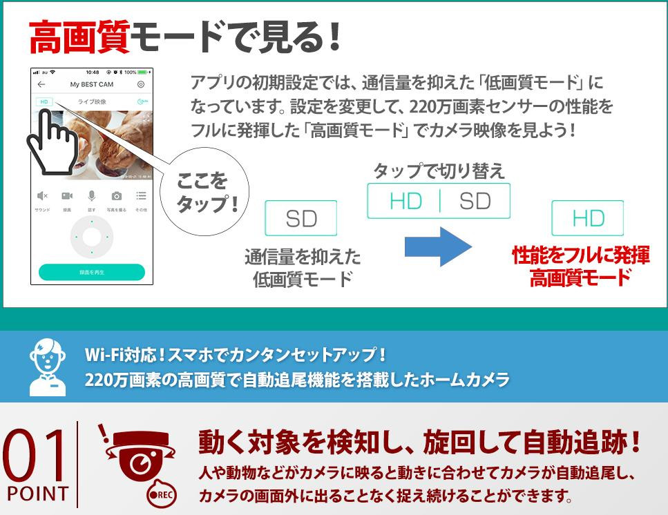 Wi-Fi対応カメラ 超簡単QRコード簡単設定 ネットワークカメラ ベビーモニター 日本語対応220万画素 防犯カメラ IPカメラ WiFi無線カメラ スマホ監視カメラ 防犯カメラ 監視カメラ 見守りカメラ スマホ遠隔監視カメラ ペットモニター SKS-KGIP 3 追跡 追尾カメラ ペットカメラ
