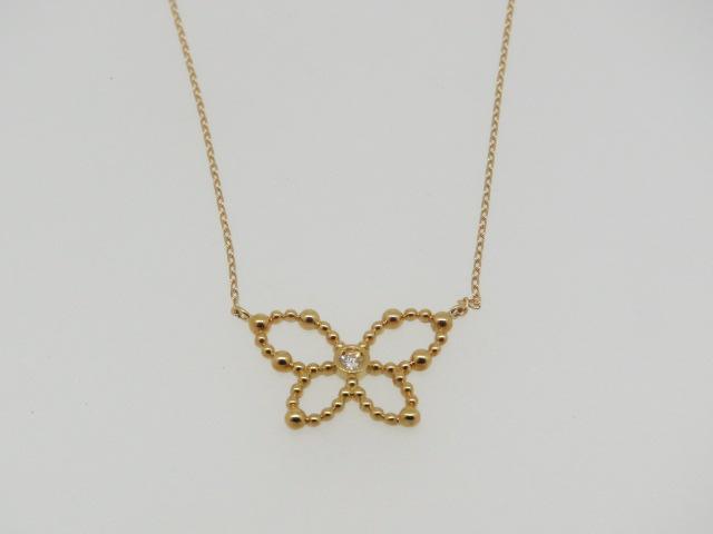 【即納】超お買い得品K18ダイヤプチネックレス