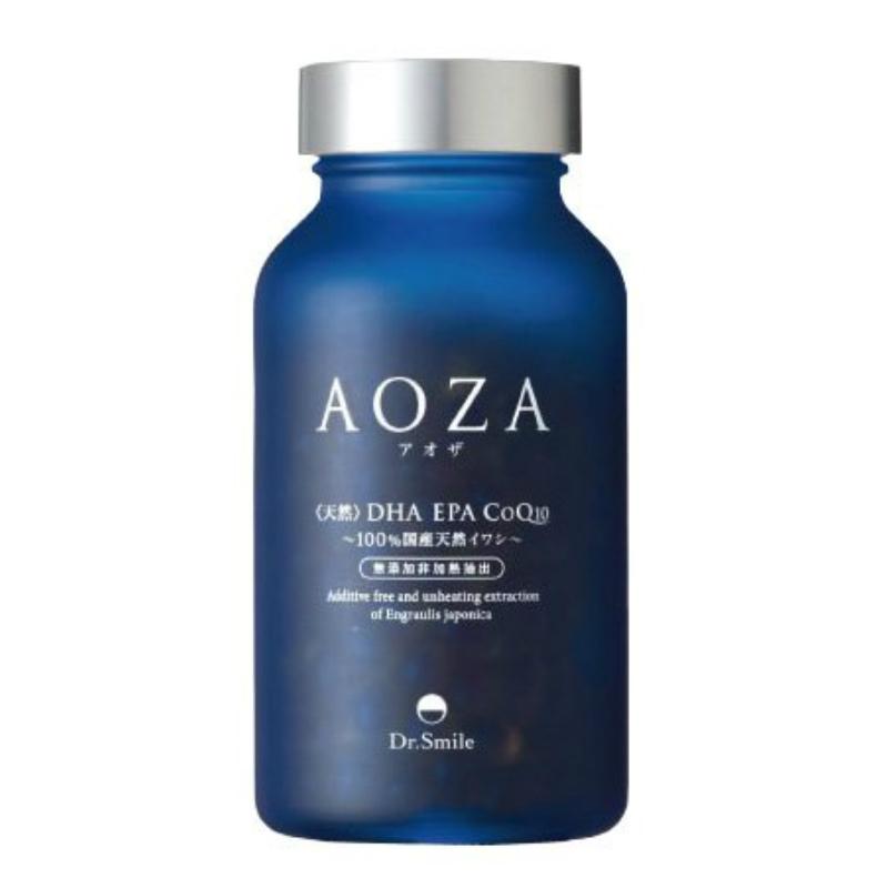 AOZA アオザ 300粒 ドクタースマイル 日本製 オメガ3 オメガ3オイル DHA EPA コエンザイムQ10 国産 カタクチイワシ 美容 サプリメント 女性特有 健康志向