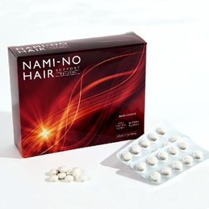 ナミーノヘアーサポート 180粒 従来品の主成分シルクアミノ酸に特許成分+有効成分を配合しました NAMI-NO HAIR 送料無料 代引き手数料無料
