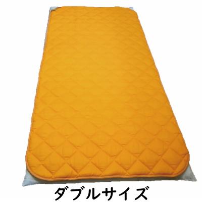 パッドの上にシーツを敷いてもご使用いただけます。 丸山式 ガイアコットン ガイガ ダブルサイズ 敷きパッド ( 地磁気 遠赤外線 丸山修寛 敷布団パッド パッド 電磁波 GAIGA )送料無料 代引き手数料無料