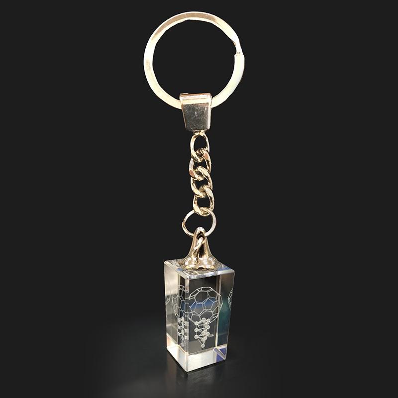 3Dカバラ バッキーカバラ キーホルダータイプ 本物研究所 クリスタルガラス製 代引手数料無料