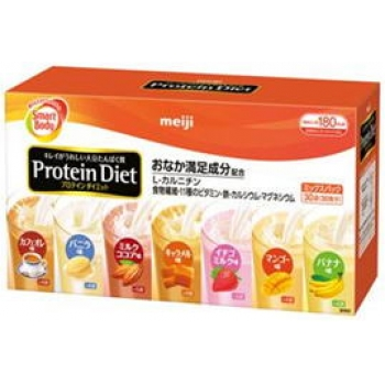 Instant delivery! Launched in seven flavors! The ultimate diet replaced! 30 Food at this price! Don't get in 7 different flavors! Yummy success rate of 96.9% better! Meiji プロテインダイエット mix packs 30 food diet