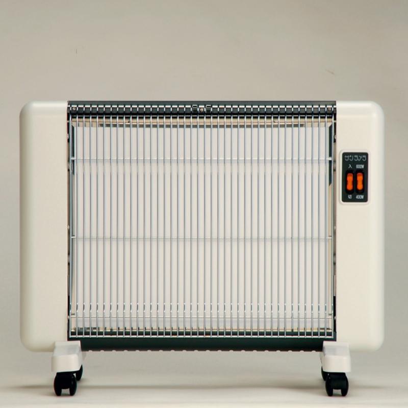 サンラメラ 604型 ホワイト 8畳まで用 600W 遠赤外線ヒーター