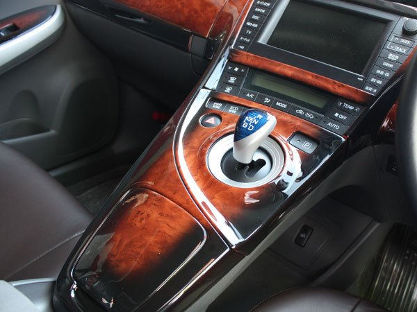 3D interior Panel Prius 30 year late with Brown wood 19 pieces