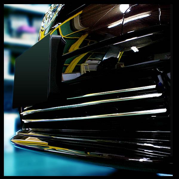 不锈钢保险杠封面 30 普锐斯 (prius) 晚雾没有专属的 4 片套 EX210
