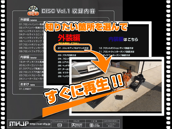 Maintenance DVD mark X GRX120 1-sales contact