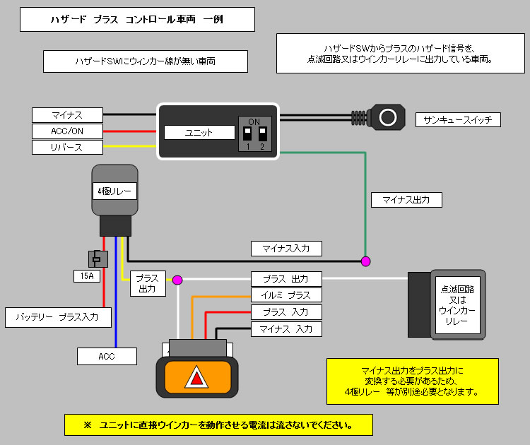 26500_11 seed style rakutenichibaten rakuten global market one touch motorcycle hazard lights wiring diagram at readyjetset.co
