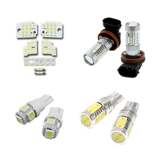 レヴォーグ VM系 LEVORG 専用 フルLED4点セット 専用設計ルームランプ/フォグランプ/ライセンス灯/バックランプ付属 送料込