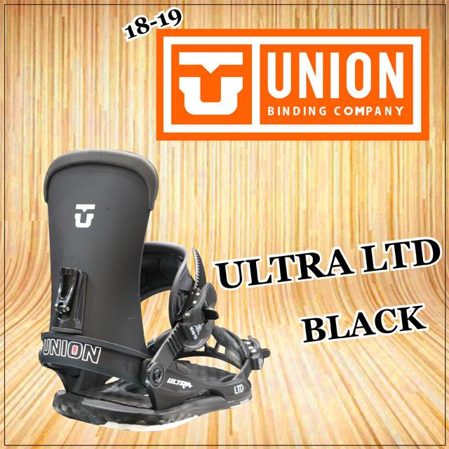 【待望★】 ☆予約受付中☆18-19モデル☆ UNION【ユニオン】ビンディング UNION ULTRA ULTRA BLACK LTD【正規品】カラー: BLACK, ソファ専門店 SOFAMART:f56b8dbf --- blablagames.net