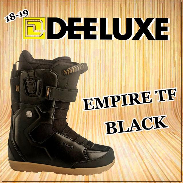 18-19モデル☆ DEELUXE 【ディーラックス】ブーツ EMPIRE TF【正規品】カラー: BLACK
