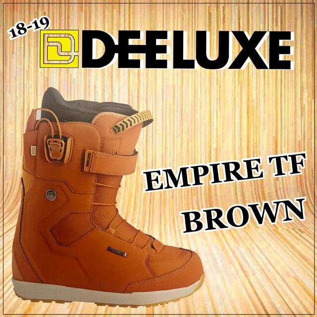 18-19モデル☆ DEELUXE 【ディーラックス】ブーツ EMPIRE TF【正規品】カラー: BROWN