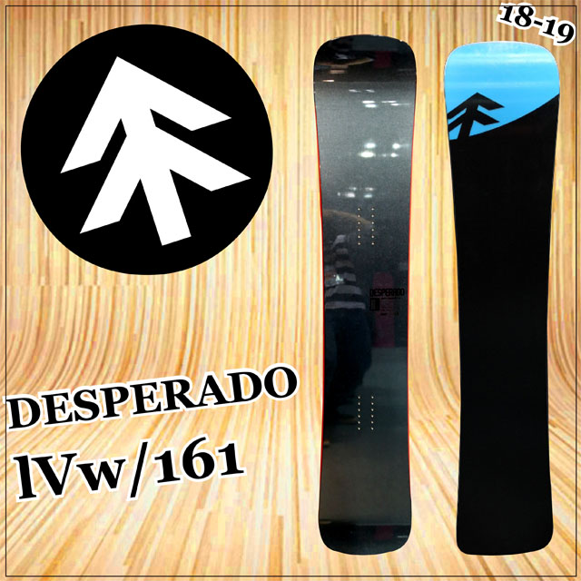 18-19 GRAY DESPERADO 4w グレイ デスペラード161ワイド スノーボード 2018-19日本正規品