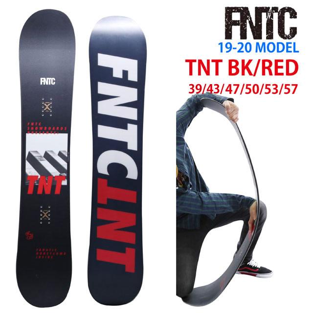 【オリジナル解説】FNTC TNT BLACK/RED 139-143-147-150-153-157 エフエヌティーシー ティーエヌティー ブラック/レッド 2019-20モデル