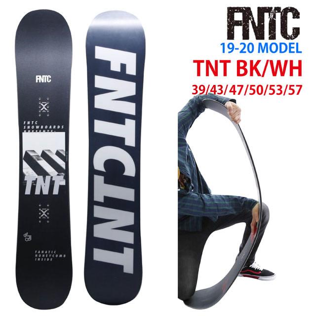 【オリジナル解説】FNTC TNT BLACK/WHITE 139-143-147-150-153-157 エフエヌティーシー ティーエヌティー ブラック/ホワイト 2019-20モデル