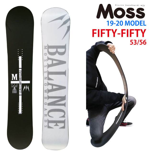 【オリジナル説明】MOSS FIFTY-FIFTY 147-150-153-156モス フィフティーフィフティー 2019-20モデル