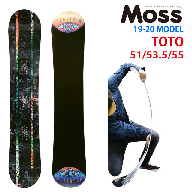 【オリジナル説明】MOSS TOTO 147-151-153.5-155-157 モス トト 2019-20モデル
