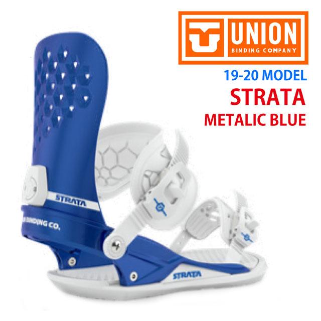 ☆19-20 UNION 【ユニオン】ビンディング STRATA【正規品】カラー: METALIC BLUE
