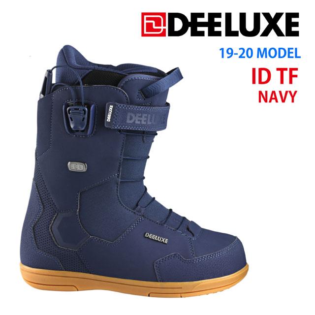 19-20☆ DEELUXE 【ディーラックス】ブーツ ID TF【正規品】カラー:NAVY