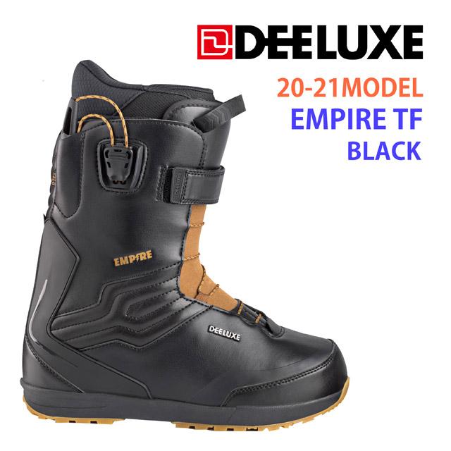 予約商品☆20-21モデル☆ DEELUXE 【ディーラックス】ブーツ EMPIRE TF【正規品】カラー: BLACK