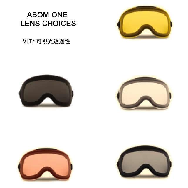 ABOM【エーボム】ゴーグルスペアレンズ ONE【正規品】ノーマルレンズタイプgoggle lens