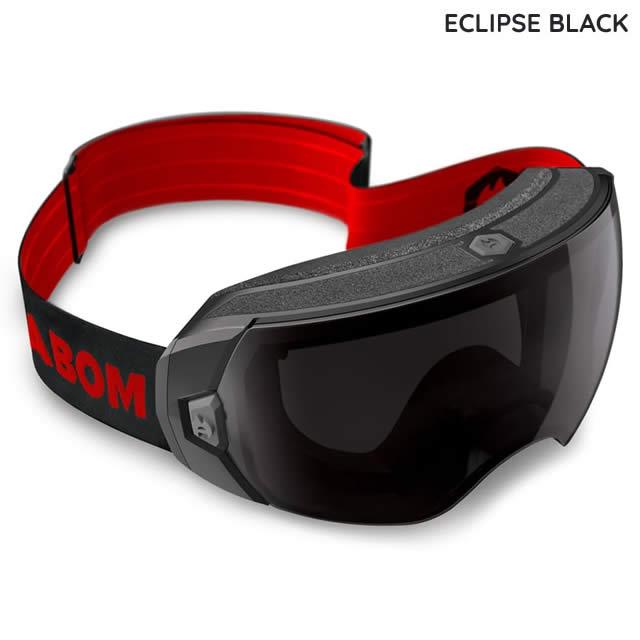 ABOM【エーボム】ゴーグル HEET【正規品】ECLIPSE BLACK goggle 2019-20