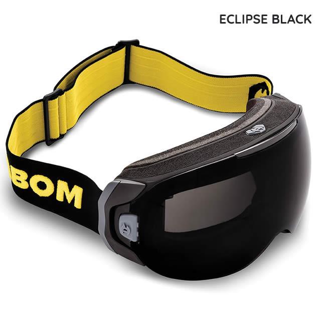ABOM【エーボム】ゴーグル ONE【正規品】ECLIPSE BLACK goggle