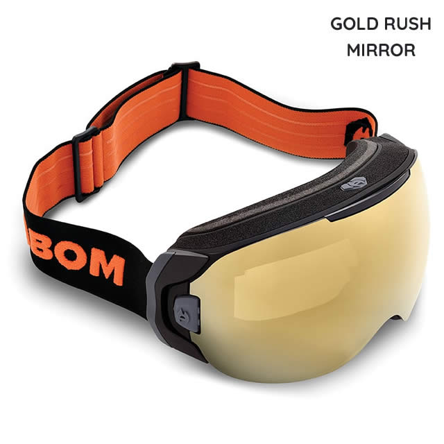 ABOM【エーボム】ゴーグル ONE【正規品】GOLD RUSH MIRROR goggle