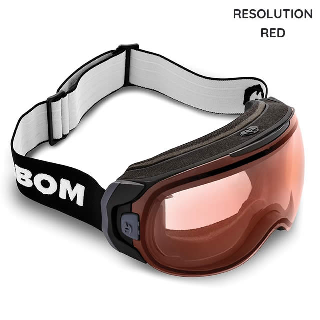 ABOM【エーボム】ゴーグル ONE【正規品】RESOLUTION RED goggle