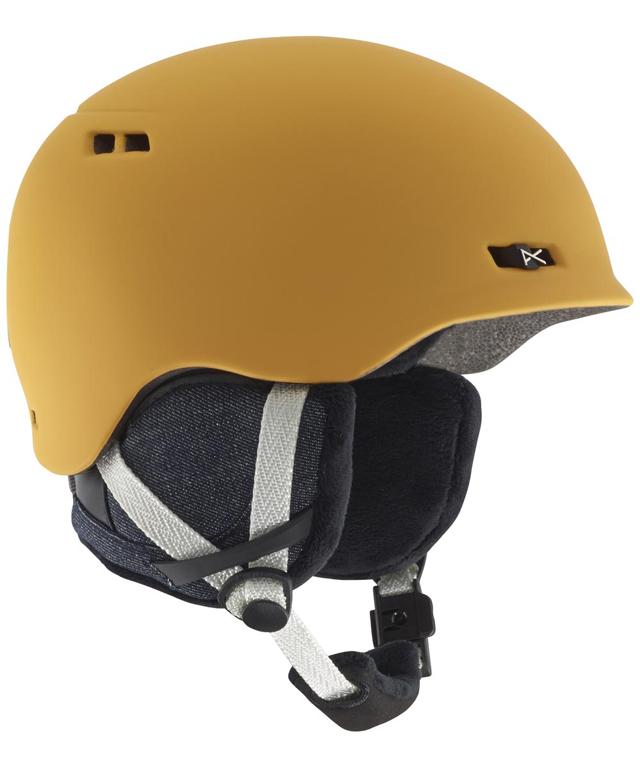 ANON【アノン】レディースヘルメット GRIFFON カラー:CURRY YELLOW【正規品】