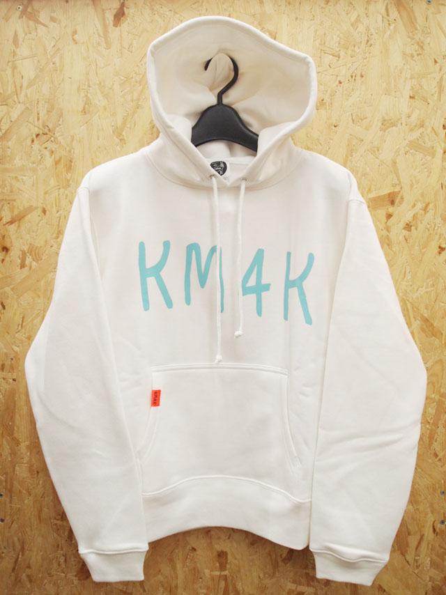 KM4K【カモシカ】パーカー KM4K HOOD MOJI【正規品】