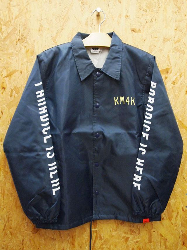 KM4K【カモシカ】コーチジャケット KM4K COACH JACKET カラー:NAVY【正規品】