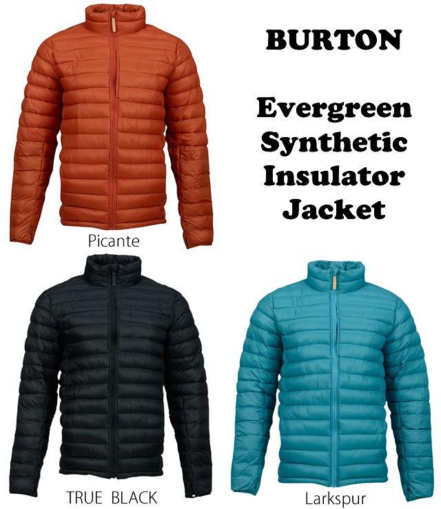 BURTON【バートン】Evergreen Synthetic Insulator【正規品】2017