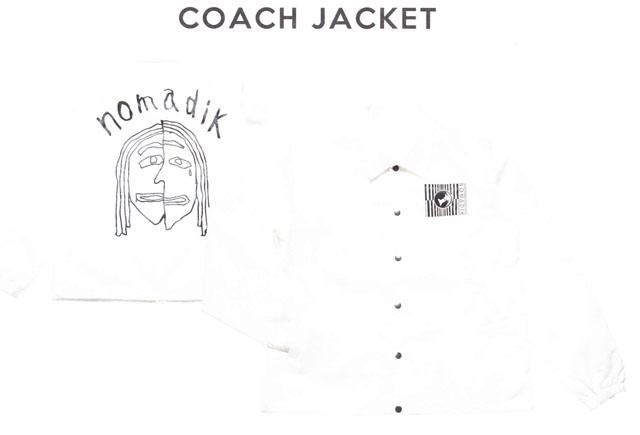 予約商品☆2019モデル☆NOMADIK【ノマディック】ジャケット COACH JACKET【正規品】
