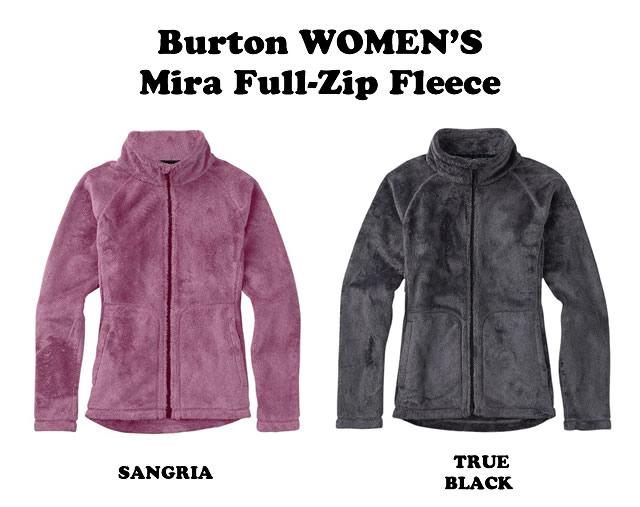 BURTON【バートン】WOMEN'S Burton Mira Full-Zip Fleece【正規品】
