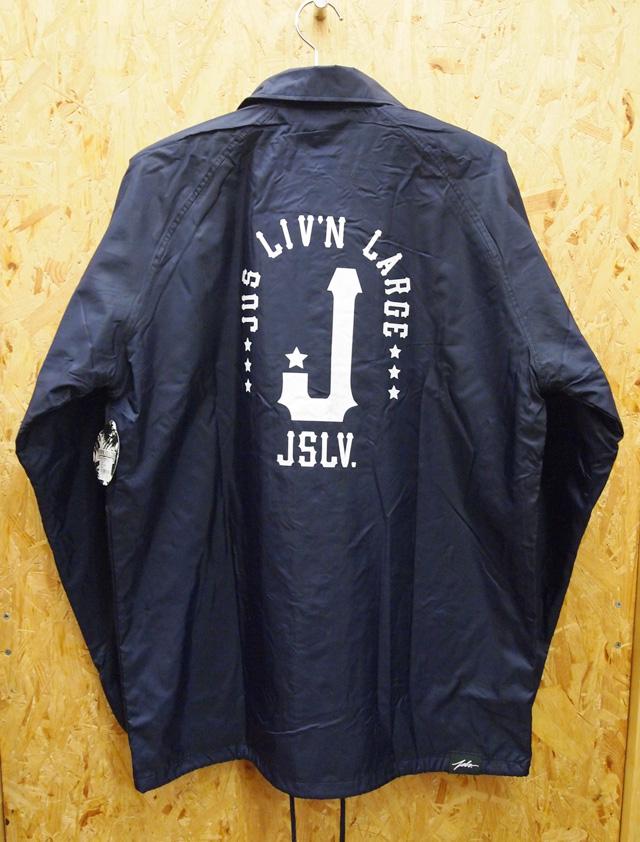 JSLV【ジャスリブ】コーチジャケットSTEADY COACH JACKET カラー:NAVY【正規品】