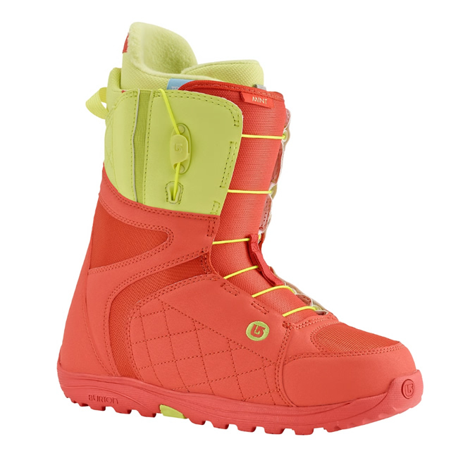 BURTON BOOTS MINT BOOT CORAL/YELLOW 2016【日本正規品】1年保証あり
