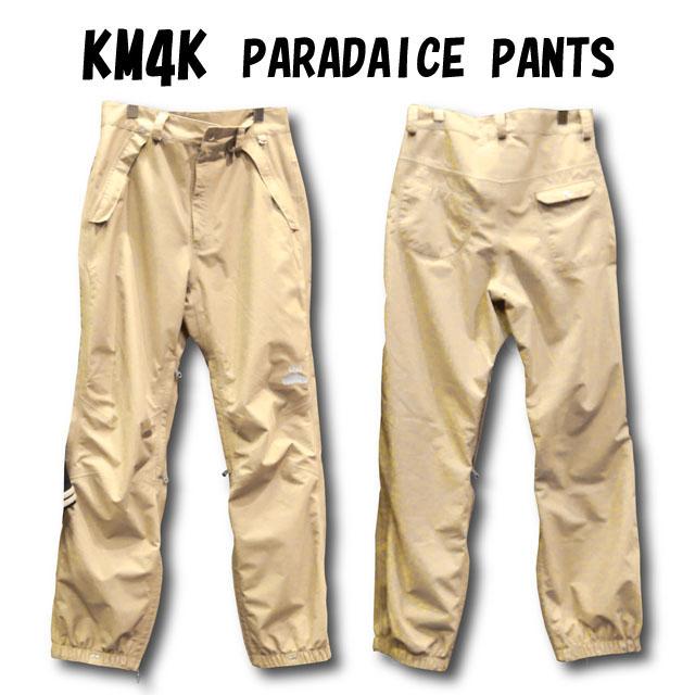 KM4K【カモシカ】PARADAICE PANTS カラー:CHINO ☆スノーボード ウェア【正規品】