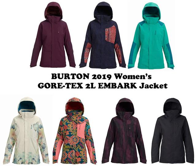 2019モデル☆BURTON【AK】GORE-TEX 2L EMBARK JACKET【正規品】