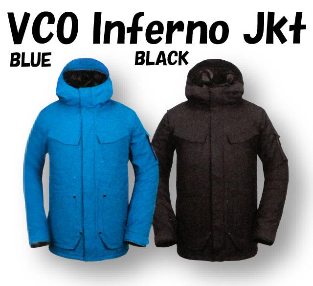 1819モデル☆VOLCOM【ボルコム】メンズウェア VCO Inferno Jkt G0651909【正規品】